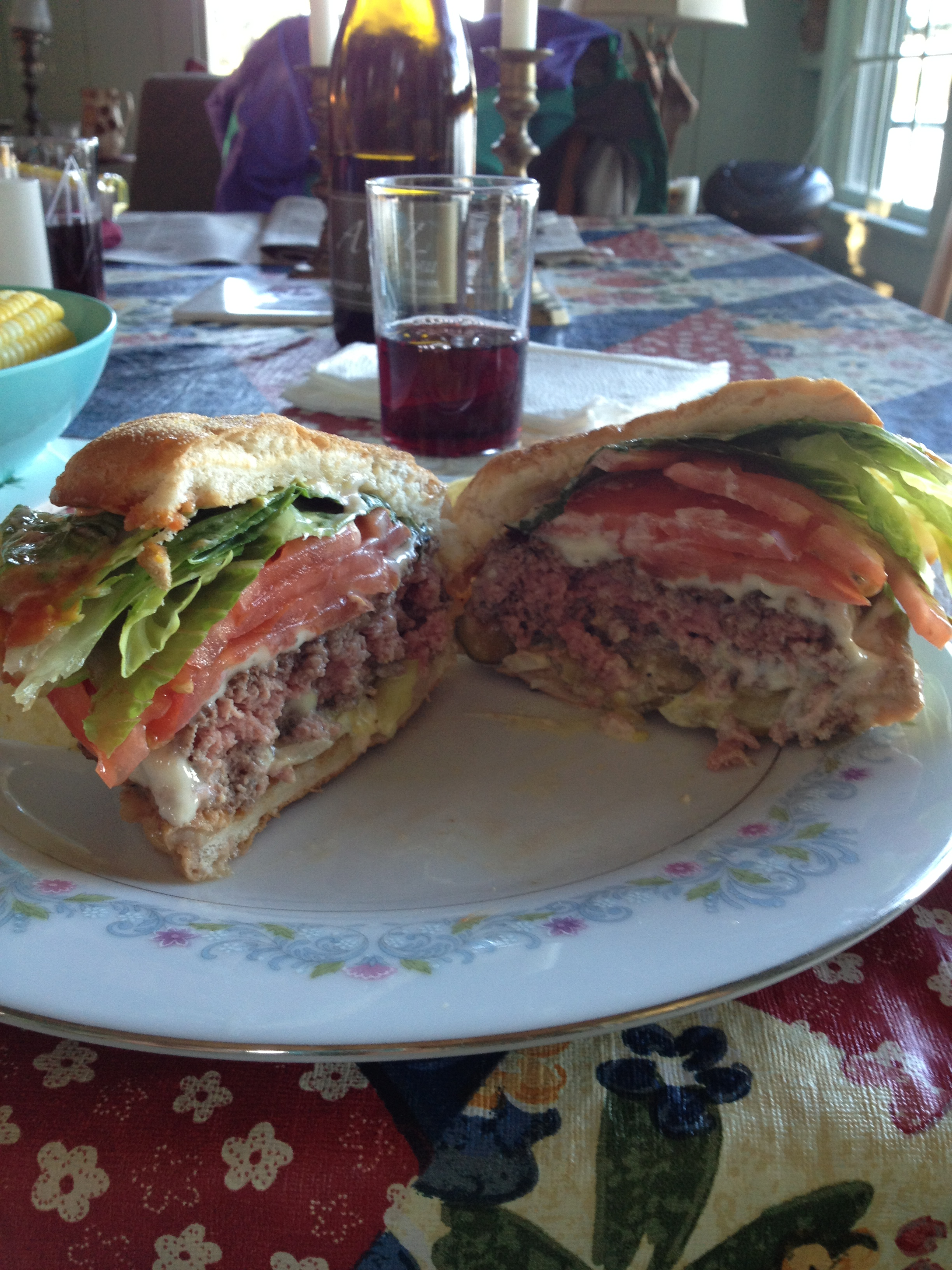 The Seven Napkin Burger from the Owl's Head, ME General Store