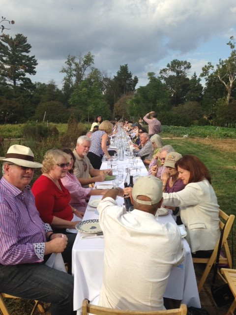 Dining at Arcadia Farm