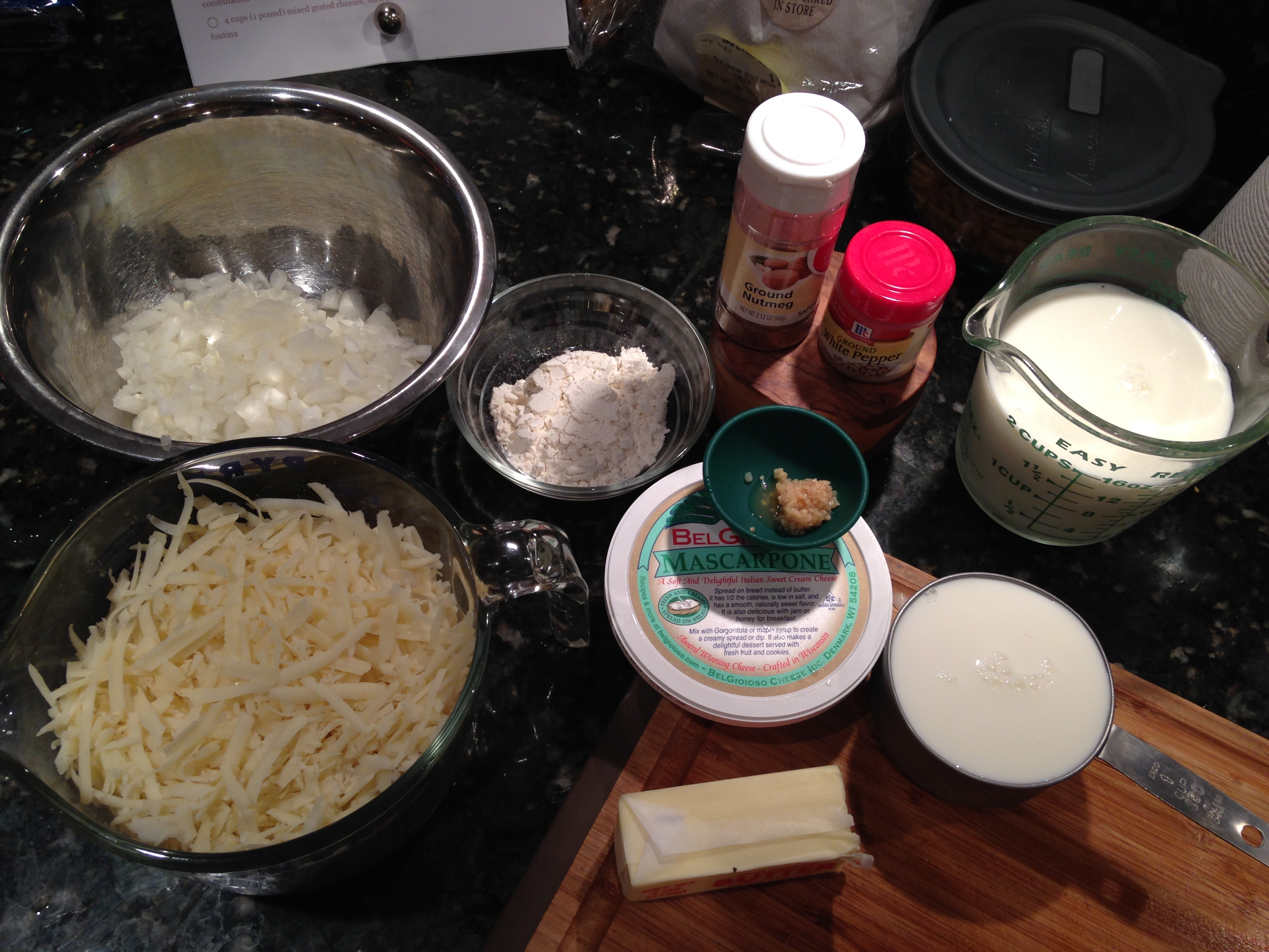 Ingredients For Lobster Mac And Cheese