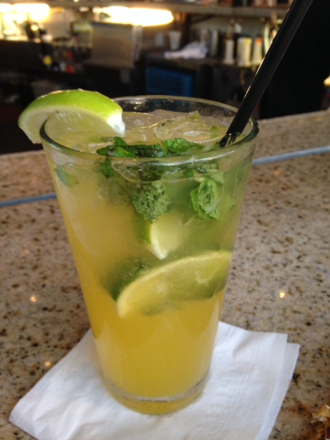 Best darned mango mojito crafted by Nui