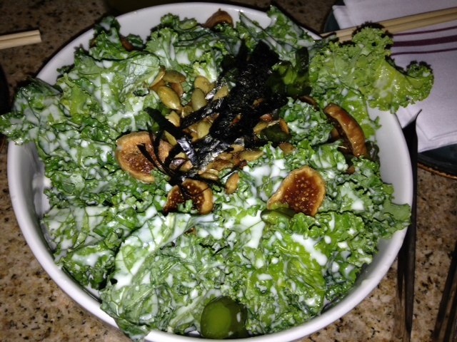 Kumu Farms Organic Kale Salad at its best.
